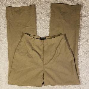 Banana Republic Dressy Checker Pants Sz 6